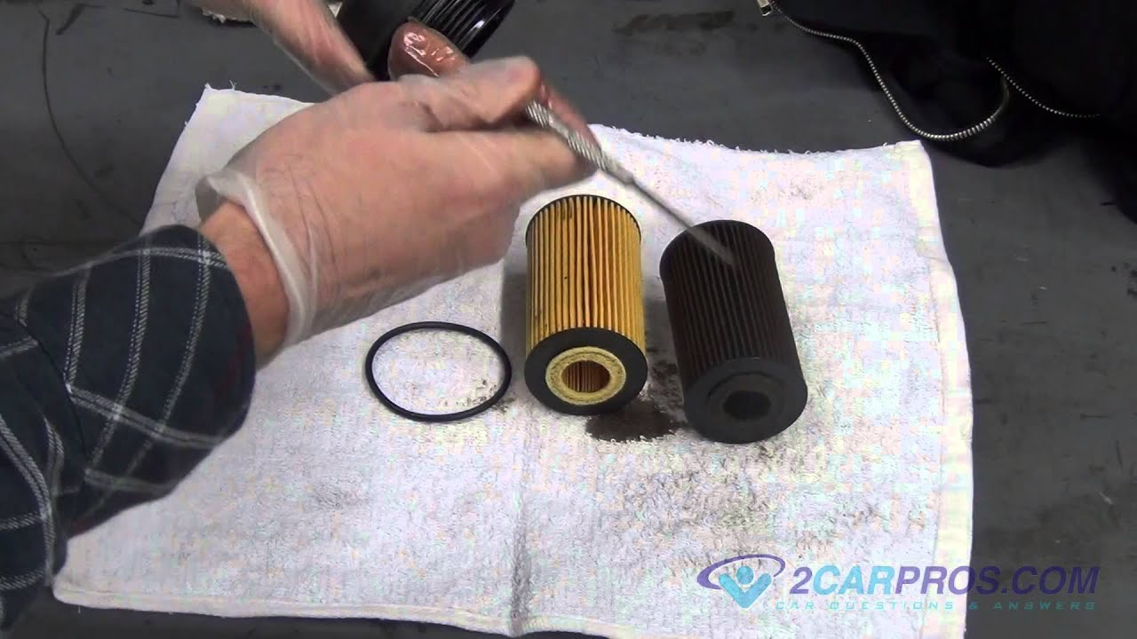 chevrolet captiva oil filter location