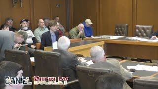Daniel Buckley's testimony aga…