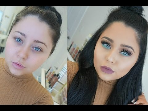 Full Face IN DEPTH Makeup Tutorial for Beginners | Spring Pop of Color