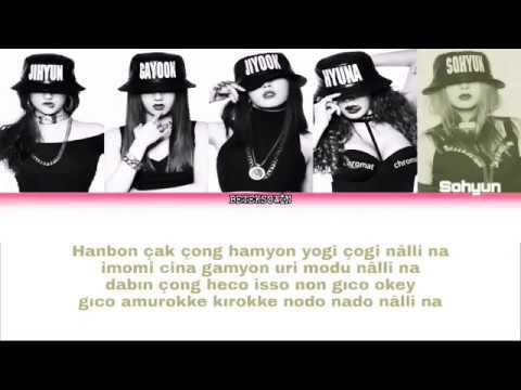 JENNIE SOLO 2 Member Karaoke(Türkçe Kolay Okunuş) Jennie+Sen