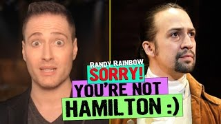 Baixar SORRY, YOU'RE NOT HAMILTON - RANDY RAINBOW