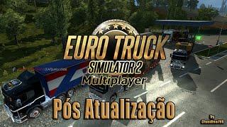 Jogar Euro Truck Simulator 2 Multiplayer após atualização 1.20