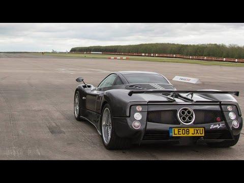 Zonda F PURE SOUND | accelerations + ride