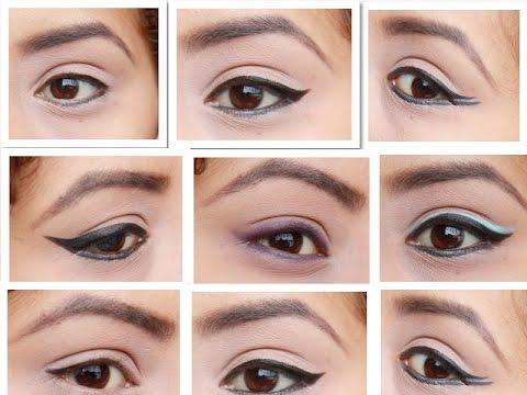 Diferentes clases de delineados en los ojos imagui for Distintas formas de maquillarse los ojos