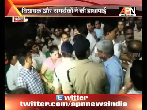 Mughalsarai: MLA, supporters misbehave with DRM for not following instructions