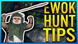 EWOK HUNT TIPS - Star Wars Battlefront 2 Ewok Hunt Tips & Tricks to Win