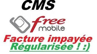 Cash Mail System :   je paie une facture de téléphone  free mobile en retard ! :D