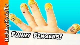 Talking Fingers and Surprise Egg!