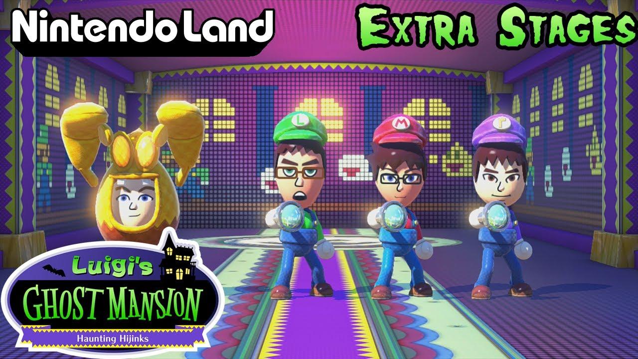 Nintendo Land Co Op Luigis Ghost Mansion Extra