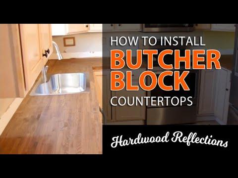 How to Install Butcher Block Countertops — Hardwood Reflections