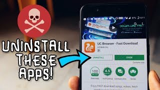 6 DANGEROUS Android Apps YOU ARE USING (Uninstall them)