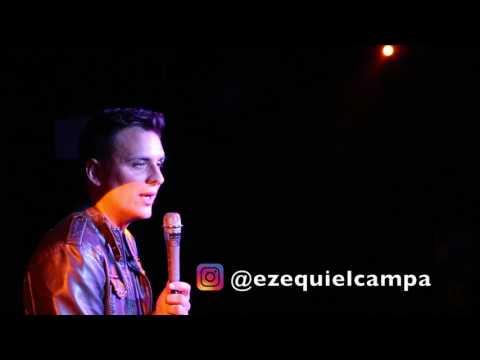 EZEQUIEL CAMPA PROBANDO NUEVO MATERIAL DE STAND UP 1