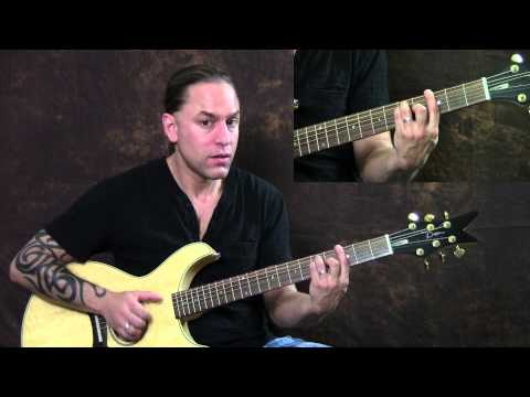 Steve Stine Guitar Lesson - Learn How to Play Too Close by Alex Clare