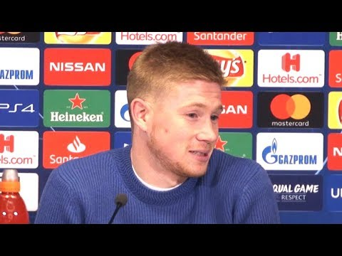 Kevin De Bruyne Full Pre-Match Press Conference - Schalke v Manchester City - Champions League