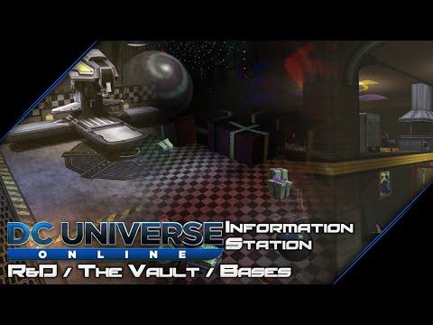 DC Universe Online - Information Station: R&D / Vault / Bases