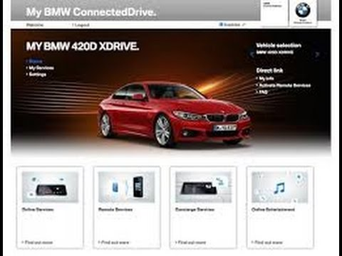 BMW Connected Drive - Step 2 -Add a vehicle to your Account