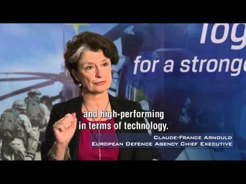 EU defence policy - EDA Chief Executive Claude-France Arnould