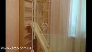 Шведская стенка для детей и взрослых из дерева. Спортивные уголки и лестницы.(, 2014-08-18T09:43:19.000Z)