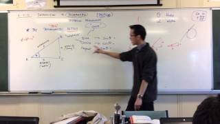 Defining the Trigonometric Ratios