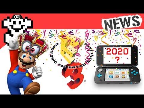 Get Mario hat die E3 gewonnen! / 3DS wird noch nach 2018 supportet! - NerdNews #141 Snapshots