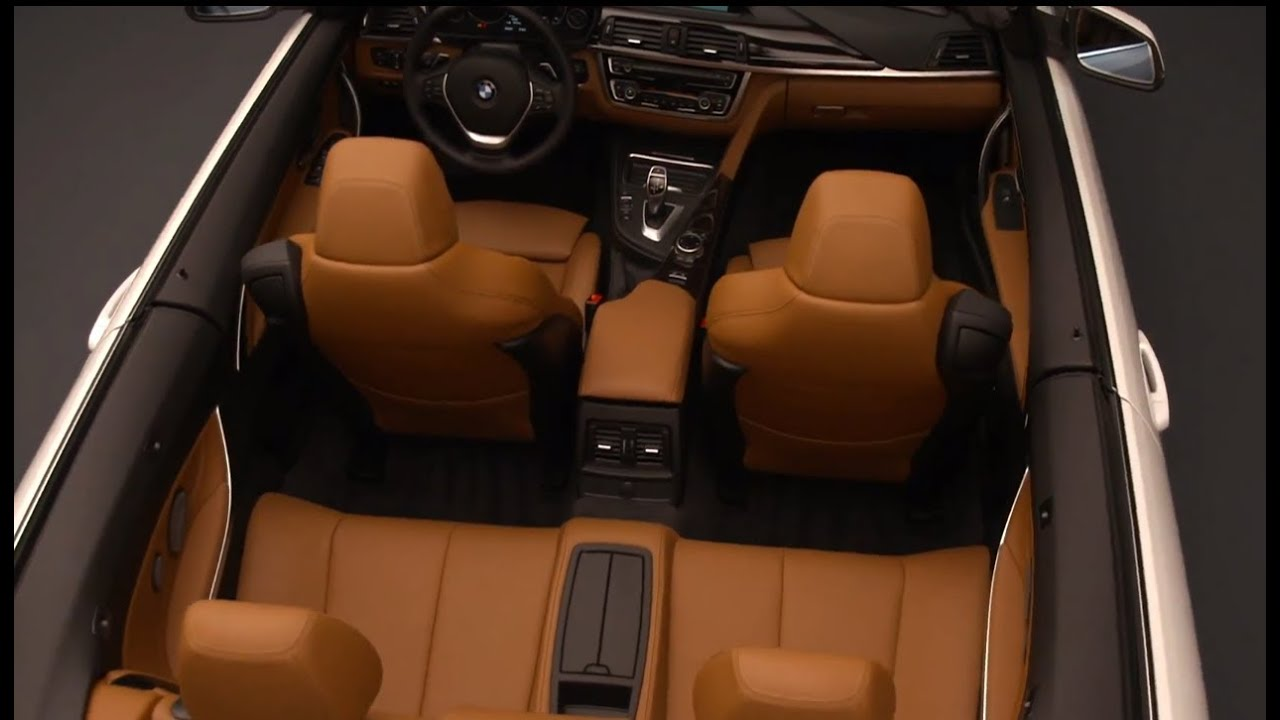 Bmw 4 Series Interior Convertible F33 2014 Hd In Detail