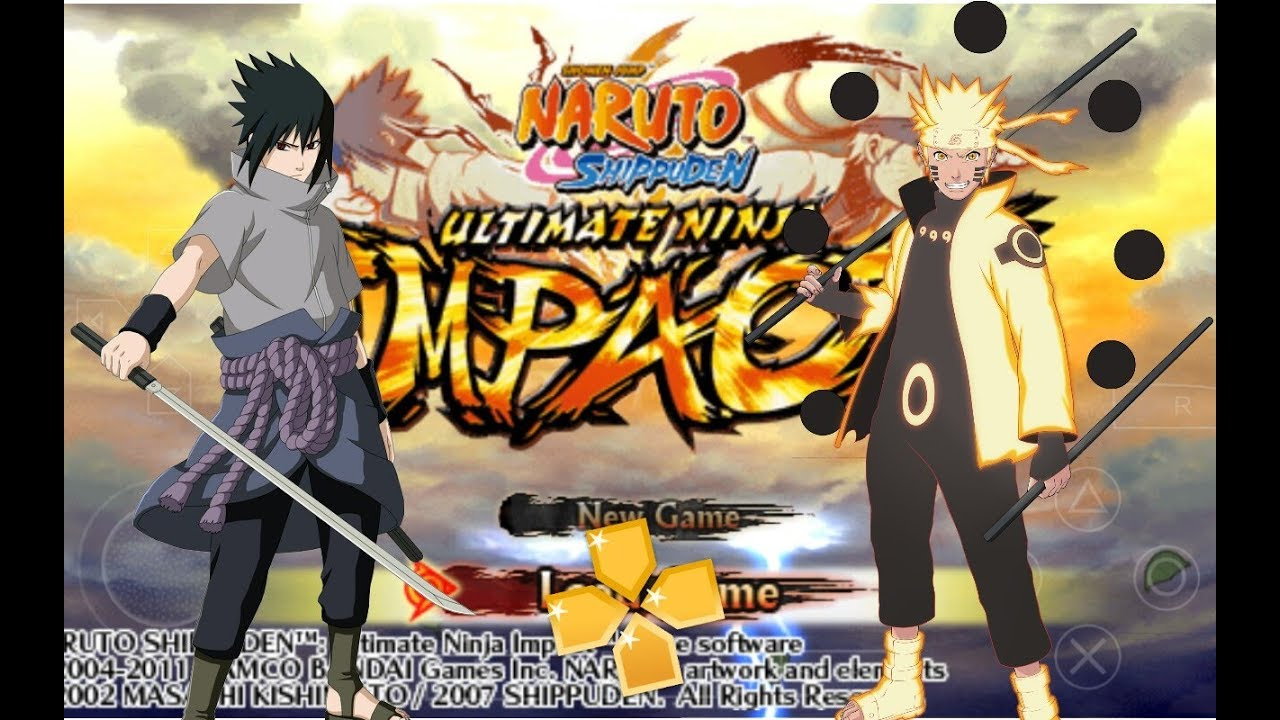 naruto shippuden ultimate ninja impact iso file download