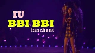 IU - 'BBI BBI' Lyrics + FANCHANT
