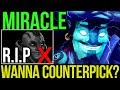 Miracle- [Storm Spirit] Counterpick with Midlane Anti Mage? Dota2