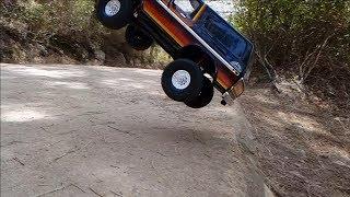 Traxxas TRX4 Ford Bronco Rock Crawler Bashing