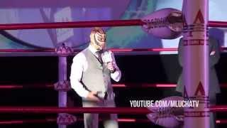 Así fue la presentación de Rey Mysterio en AAA