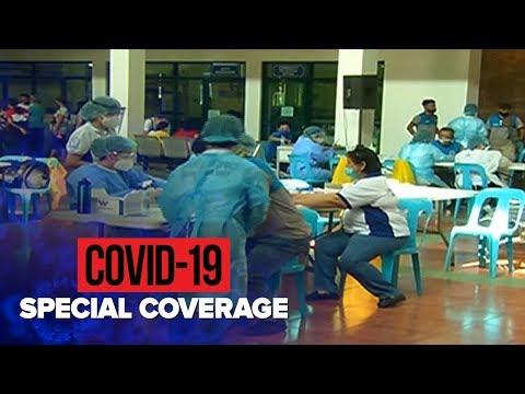 Marikina city hall employees tested for COVID-19