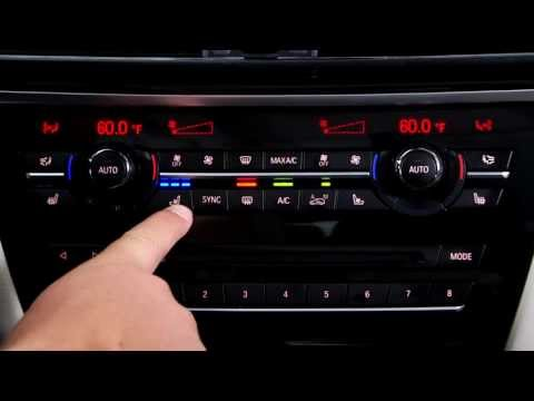 Climate Control Buttons | BMW Genius How-To