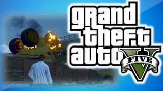 gta 5 online multiplayer funny moments 1 train glitch and drive thru convenient store gta online