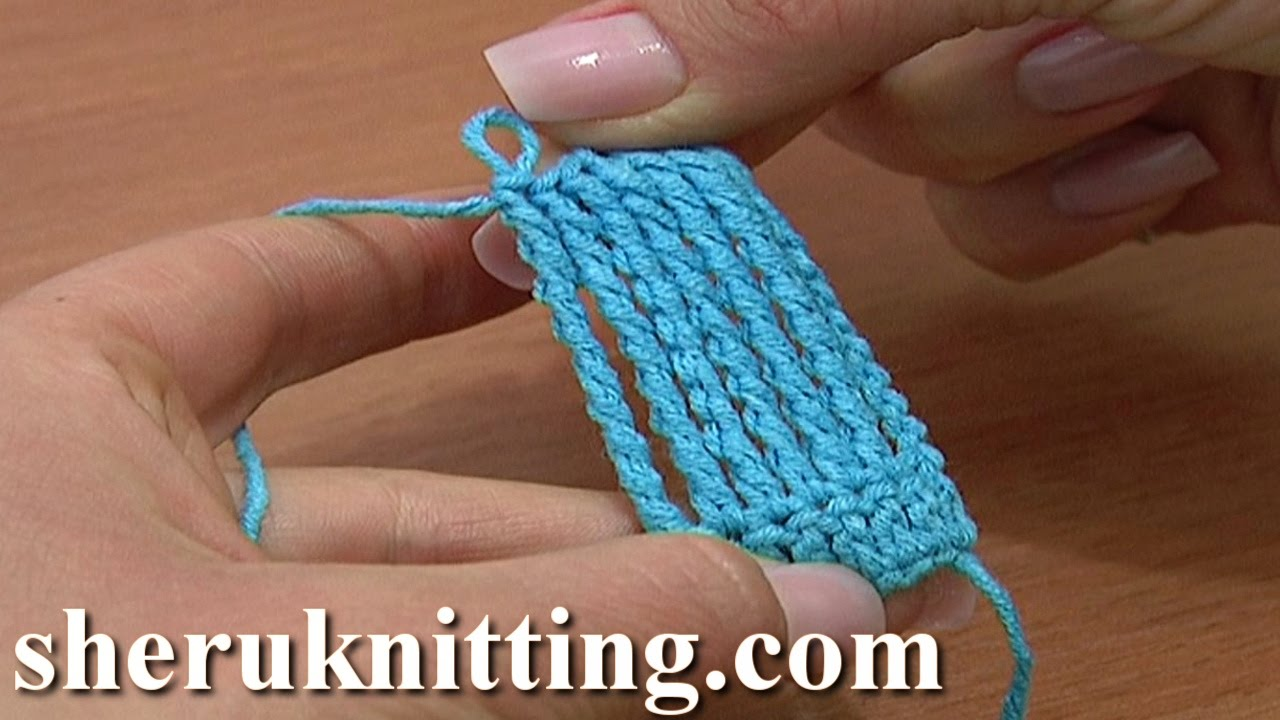 How To Work Octuple Treble Crochet Stitch Tutorial 17 ...
