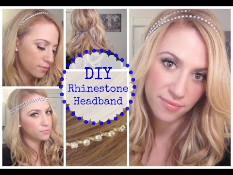 DIY Rhinestone Headband!