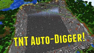 How to make a TΝT Auto Digger 1.16+ - Automatically make a huge hole like Mumbo Jumbo