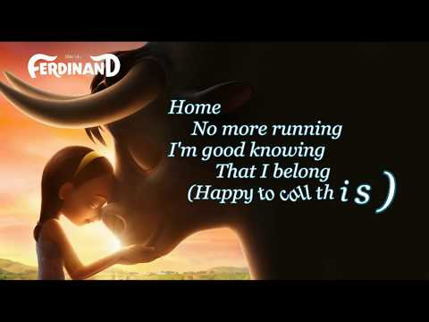 Home Nick Jonas [GOOD AUDIO] Lyrics Soundtrack Ferdinand Movie