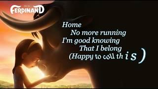 Video Home Nick Jonas [GOOD AUDIO] Lyrics Soundtrack Ferdinand Movie download MP3, 3GP, MP4, WEBM, AVI, FLV Mei 2018