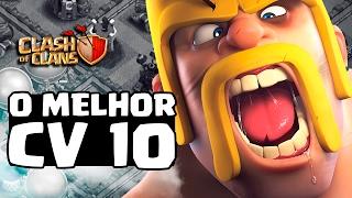 RECORDE INCRIVEL! BRASILEIRO É O MELHOR CV10 EM PUSH NO CLASH OF CLANS!