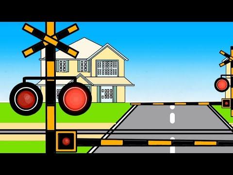 素敵な踏切 | nice railroad crossing |schöner Bahnübergang | ładne przejście kolejowe |palang kereta bagus