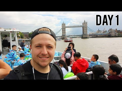 LONDON WITH NO MONEY - DAY 1