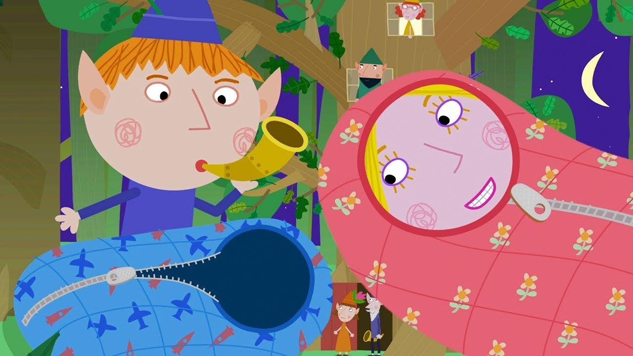 El Pequeño Reino De Ben Y Holly Acampando Episodios Completos Dibujos Animados Youtube