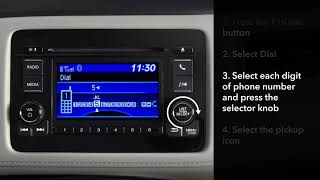 Honda HR-V: How to Make and Receive Calls with Bluetooth® HandsFreeLink®: LCD Audio Models
