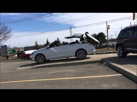 2015 VW Eos Convertible Top Operation at Volkswagen Waterloo with Mike Raab