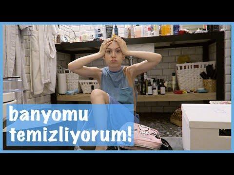 BANYOMU TEMİZLİYORUM! EVDE HAFTA SONU | VLOG