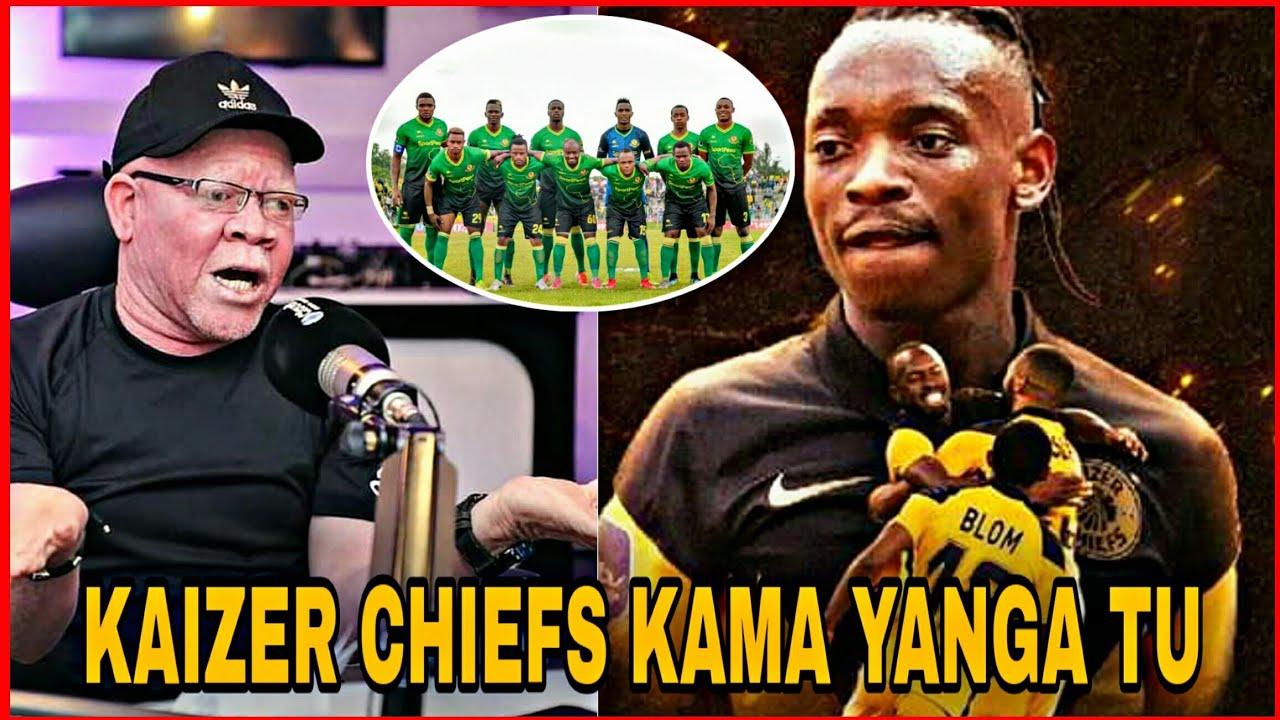 """UTACHEKA Alichokisema Manara Kuelekea Mchezo Dhidi Ya Kaizer Chief """"Tunahofu Wasikimbie ,Kama Yanga"""