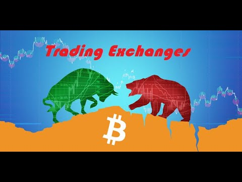 Crypto Currency Basics – Trading Exchanges