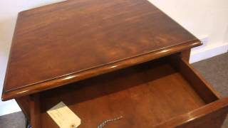 Walnut Queen Anne Style Lamp Table