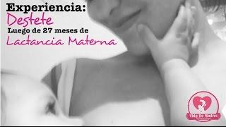Lactancia Materna. Destete