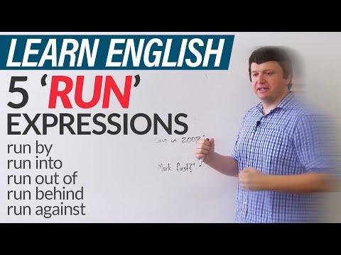5 'RUN' expressions in English